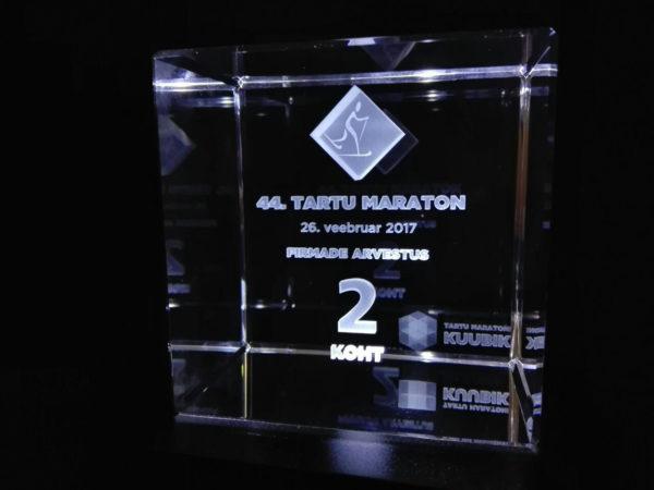 Tartu maratoni auhinnad